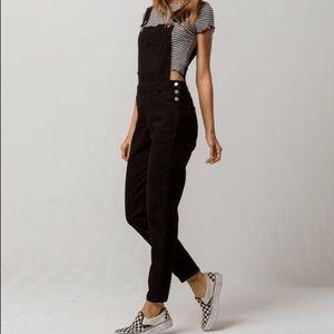 Roxy Black Overalls
